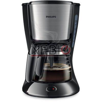Cafetiera Philips Daily Collection HD7435/20, 700W, 0.6 l, Negru