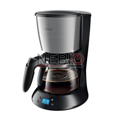 Cafetiera Philips Daily Collection HD7459/20, 1000 W, 1.2 l, Negru