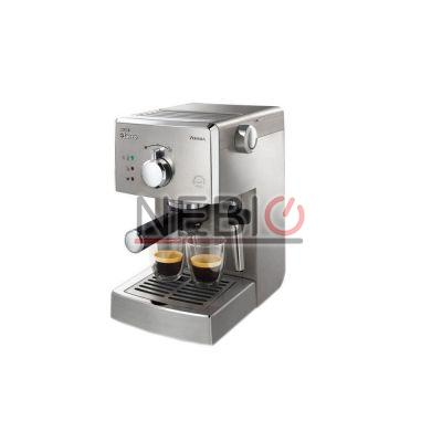 Espressor manual Saeco Poemia Philips HD8427/19, Dispozitiv spumare, 15 Bar, 1.25 l, Argintiu