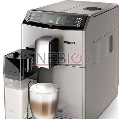 Espressor super-automat Philips HD8834/19, 3100 series, 1850W, Dispozitiv spumare, 15 Bar, Argintiu