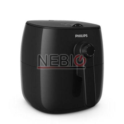 Friteuza Viva Collection Airfryer Philips HD9621/90, 0.8 kg, Negru