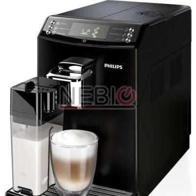 Espressor automat Philips HD8847/09, 1850W, 15 Bar, 1.8 l, Recipient lapte 0.5 l, Negru