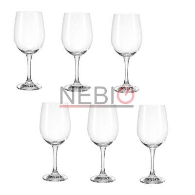 Set 6 pahare vin rosu Montana 044449, Model Redwine First, Inaltime 21 cm, 420 ml, Transparent
