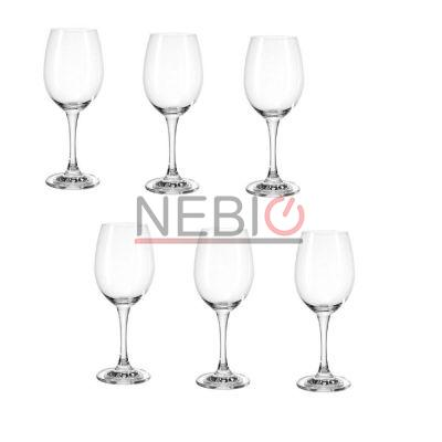 Set 6 pahare vin alb Montana 044448, Model Whitewine First, Inaltime 20 cm, 310 ml, Transparent