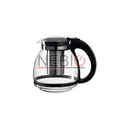 Infuzor ceai Montana 050248, Model Teatime, Inaltime 17 cm, Latime 19 cm, 1500 ml, Transparent